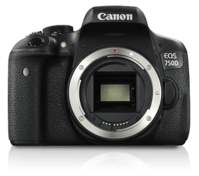 Canon EOS 750D (24.2 MP, Body only) DSLR Camera
