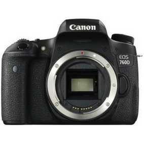 Canon EOS 760D (24.2 MP, Body only) DSLR Camera