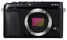 Fujifilm X-E3 (24.3 MP, Body Only) Mirrorless Camera
