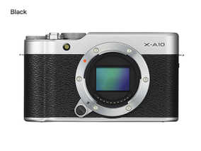 Fujifilm X-A10 (16.3 MP, Body Only) Mirrorless Camera
