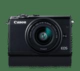 Canon EOS M100 (24.2 MP, 24-72 mm Kit Lens) Mirrorless Camera