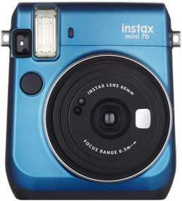 Fujifilm Mini 70 Instant Camera (Island Blue)
