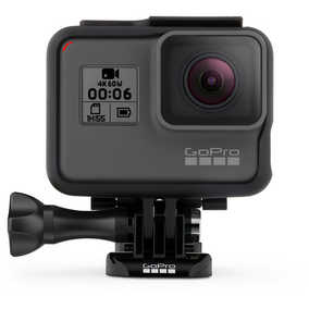 GoPro Hero 6 (12 MP, 4K) Waterproof Sports & Action Camera (Black)