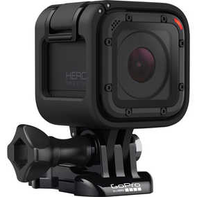 GoPro Hero Session (8 MP, 4K) Waterproof Sports & Action Camera (Black)