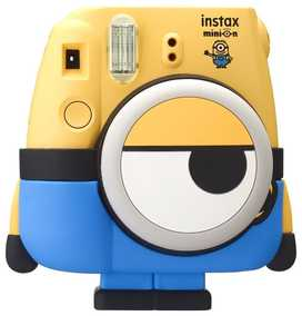 Fujifilm Minion Mini 8 Special Pack Instant Camera (Yellow)