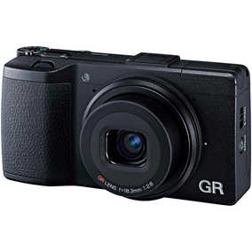 Ricoh GR II (16.2 MP, 18.3-0 mm GR Lens) Digital Camera