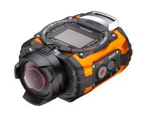Ricoh WG-M1 (14 MP, Full HD) Waterproof Sports & Action Camera (Orange)