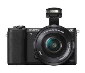 Sony Alpha 5100 (ILCE-5100L) (24.3 MP, 16-50 mm Power Zoom Lens) Digital Mirrorless Camera