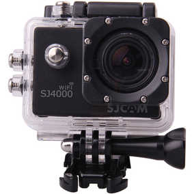 SJCAM SJ4000 Wi-Fi (12 MP, Full HD) Waterproof Sports & Action Camera (Black)