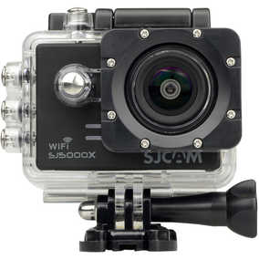 SJCAM SJ5000X Wi-Fi (12 MP, Ultra HD 4K) Waterproof Sports & Action Camera (Black)