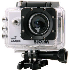 SJCAM SJ5000 Wi-Fi (14 MP, Full HD) Waterproof Sports & Action Camera (White)