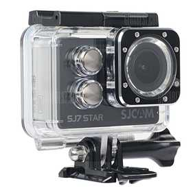 SJCAM SJ7 STAR (12.76 MP, Ultra HD 4K) Waterproof Sports & Action Camera (Black)