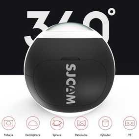SJCAM SJ360 PANORAMIC (12 MP, HD Plus 2K) Sports & Action Camera (Black)