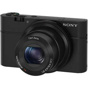 Sony RX100 (DSC-RX100) (20.2 MP, Full HD) Digital Point and Shoot Camera