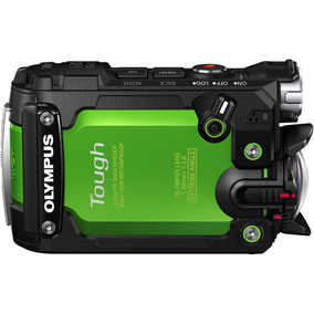 Olympus Tough TG-Tracker (7.2 MP, Ultra HD 4K) Waterproof Sports & Action Camera (Green)