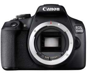Canon EOS 1500D (24.1 MP, Body only) DSLR Camera