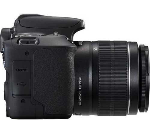 Canon EOS 200D (24.2 MP, EF-S 18-55 IS STM & EF-S 55-250 IS STM Dual Kit Lens) DSLR Camera