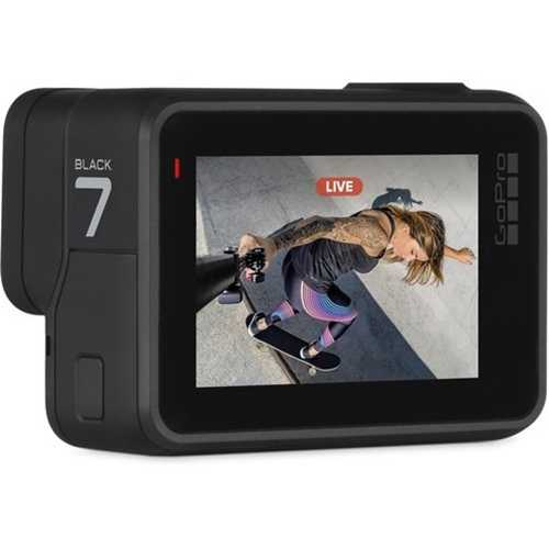 GoPro Hero 7 (12.0 MP, Ultra HD 4K) Waterproof Sports & Action Camera (Black)