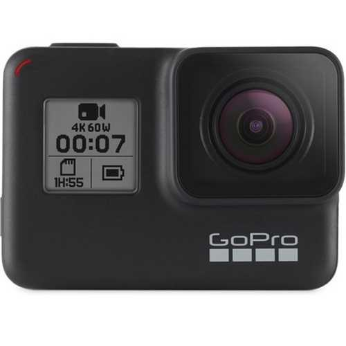 GoPro Hero 7 (12.0 MP, Ultra HD 4K) Waterproof Sports & Action Camera (Black)