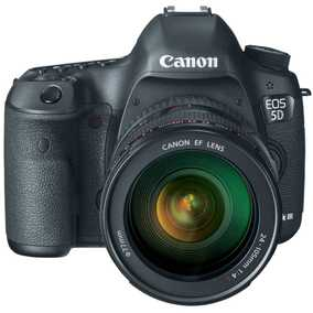 Canon EOS 5D Mark III (22.3 MP, EF 24-105 mm F/4L IS USM Kit Lens) DSLR Camera
