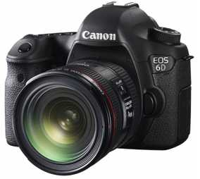 Canon EOS 6D (20.2 MP, EF 24-70 mm F/4L IS USM Kit Lens) DSLR Camera