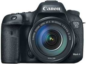 Canon EOS 7D Mark II (20.2 MP, EF-S 18-135 mm F/3.5-5.6 IS USM Kit Lens) DSLR Camera