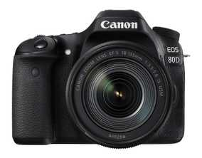 Canon EOS 80D (24.2 MP, EF-S 18-135 mm F/3.5-5.6 IS USM Kit Lens) DSLR Camera