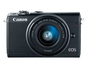 Canon EOS M100 (24.2 MP, EF-M 15-45 mm IS STM Kit Lens) Mirrorless Camera