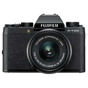 Fujifilm X-T100 (24.2 MP, XC 15-45 mm F/3.5-5.6 OIS PZ + XC 50-230 mm F/4.5-6.7 OIS II Dual Kit Lens) Mirrorless Camera