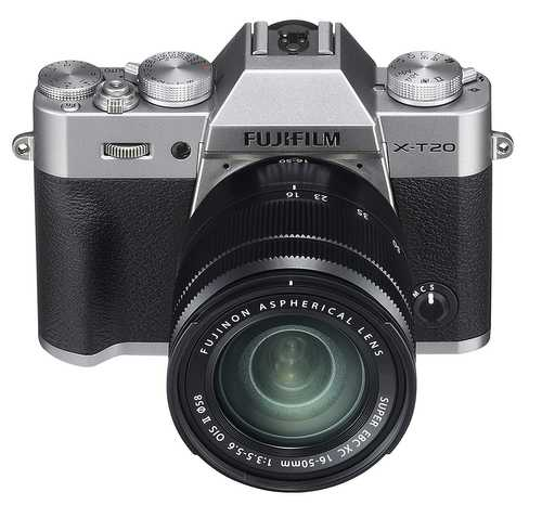 Fujifilm X-T20 (24.3 MP, XC 16-50 mm F/3.5-5.6 OIS II Lens + XC 50-230 mm F/4.5-6.7 OIS II Dual Kit Lens) Mirrorless Camera
