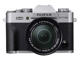 Fujifilm X-T20 (24.3 MP, XC 16-50 mm F/3.5-5.6 OIS II Lens + XC 50-230 mm F/4.5-6.7 OIS II Dual Kit Lens) Mirrorless Camera