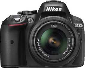 Nikon D5300 (24.2 MP, AF-P DX NIKKOR 18-55 mm F/3.5-5.6G VR + AF-P DX NIKKOR 70mm-300 mm F/4.5-6.3G ED VR Dual Kit Lens) DSLR Camera