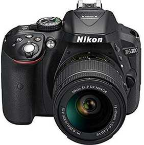 Nikon D5300 (24.2 MP, AF-S DX Nikkor 18-55 mm F/3.5-5.6G VR Kit Lens) DSLR Camera