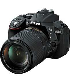 Nikon D5300 (24.2 MP, AF-S 18-140mm VR Single Kit Lens) DSLR Camera