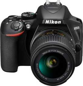 Nikon D3300 (24.2 MP, AF-P 18-55 mm VR Kit Lens) DSLR Camera