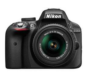 Nikon D3300 (24.2 MP, AF-P DX NIKKOR 18-55 mm f/3.5-5.6G VR + AF-P DX NIKKOR 70-300 mm f/4.5-6.3G ED VR Dual Kit Lens) DSLR Camera