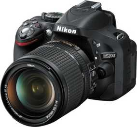 Nikon D5200 (24.1 MP, AF-S 18-140mm VR Kit Lens) DSLR Camera