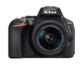 Nikon D5600 (24.2 MP, AF-P 18-55 mm VR Kit Lens) DSLR Camera