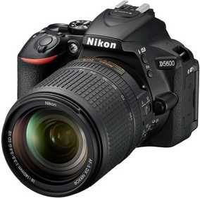 Nikon D5600 (24.2 MP, AF-S 18-140 mm VR Kit Lens) DSLR Camera