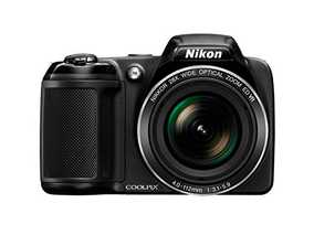Nikon Coolpix L340 20.2 MP Point and Shoot Camera