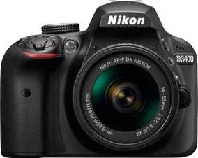 Nikon D3400 (24.2 MP, Body only) DSLR Camera