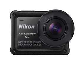 Nikon KeyMission 170 (8.3 MP, 4K) Waterproof & Dust resistant Digital Sports & Action Camera (Black)
