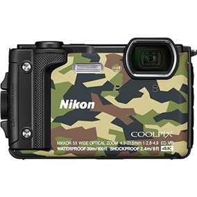 Nikon COOLPIX W300 (16 MP, UHD 4K) Waterproof & Dust Resistant Digital Point and Shoot Camera with 16GB (Class 10) SD card