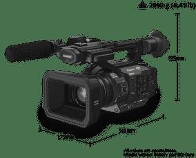 Panasonic AG-UX170ED Ultra HD 4K Camcorder
