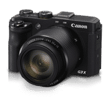 Canon PowerShot G3 X (20.2 MP, Full HD) Water Resistant & Dust Resistant Point and Shoot Camera