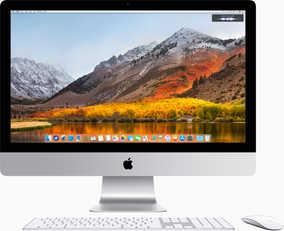 Apple iMac MNED2HN/A (27 inch (68 cm), Intel 7th Gen Core i5-7600K, 8 GB DDR4 RAM, 2 TB Fusion Drive, 8 GB Graphics, Mac OS) All in One Desktop