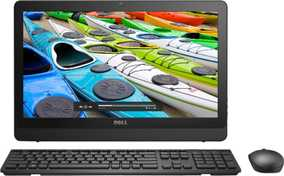 Dell Inspiron One 3052 (A265512UIN9) (19.5 inch (49 cm), Intel Pentium J3710, 4 GB DDR3 RAM, 1 TB HDD, Linux) All in One Desktop