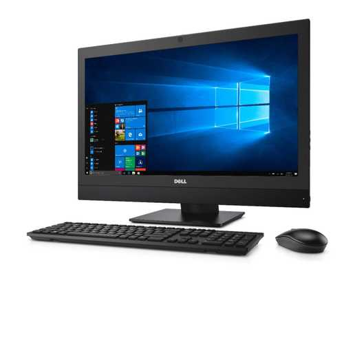 Dell Optiplex 7450 (23.8 inch (60 cm), Intel 7th Gen Core i7-7700, 8 GB DDR4 RAM, 256 GB SSD, Windows 10) All in One Desktop