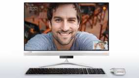 Lenovo IdeaCentre 510S F0C3008AIN (23 inch (58 cm), Intel 6th Gen Core i7-6500U, 8 GB DDR4 RAM, 1 TB HDD, 2 GB Graphics, Windows 10) All in One Desktop