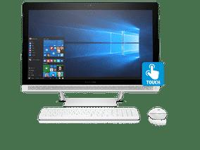 HP 27-Q202IN (Z8G47AA) (27 inch (68 cm), Intel 7th Gen Core i7-7700T, 16 GB DDR4 RAM, 2 TB HDD + 128 GB SSD, 4 GB Graphics, Windows 10 Home) All in One Desktop